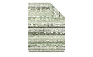 IBENA Jacquard Wohndecke  Adadir ¦ grün ¦ 58% Baumwolle, 35% Polyacryl, 7% Polyester Heimtextilien > Kuscheldecken - Höffner