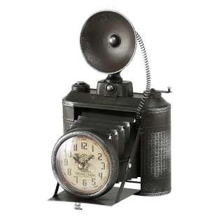 home24 Tischuhr Fotoapparat