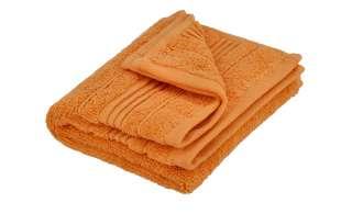 VOSSEN Gästetuch  Soft Dreams ¦ orange ¦ 100% Baumwolle Badtextilien und Zubehör > Handtücher & Badetücher > Gästetücher - Höffner