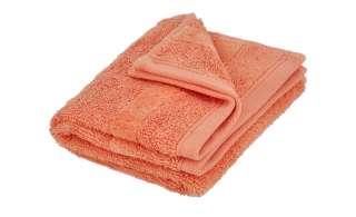Ross Gästetuch  4005 ¦ orange ¦ 100% Baumwolle Badtextilien und Zubehör > Handtücher & Badetücher > Gästetücher - Höffner