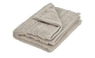 VOSSEN Gästetuch  Soft Dreams ¦ beige ¦ 100% Baumwolle Badtextilien und Zubehör > Handtücher & Badetücher > Gästetücher - Höffner