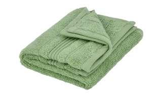 VOSSEN Gästetuch  Soft Dreams ¦ grün ¦ 100% Baumwolle Badtextilien und Zubehör > Handtücher & Badetücher > Gästetücher - Höffner