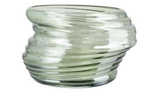Vase ¦ grün ¦ Glas Ø: 20.5 Dekoration > Vasen - Höffner