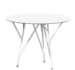 Jan Kurtz - Astwerk Tisch - rund- weiß/weiß - indoor