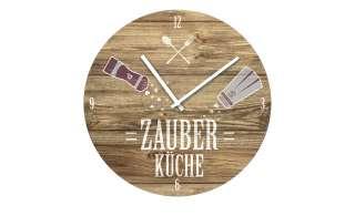 Glasuhr rund  ZauberkücheØ: 40 Dekoration > Uhren & Wetterstationen - Höffner