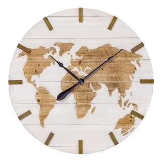 home24 Wanduhr Global