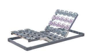 TEMPUR Motor-Systemrahmen  TEMPUR® Premium Flex ¦ grau Lattenroste > Lattenroste Größen > Lattenroste 90x200 - Höffner