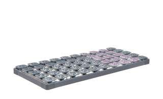 TEMPUR Systemrahmen  TEMPUR® Premium Flex 500 ¦ grau Lattenroste > Lattenroste Größen > Lattenroste 80x200 - Höffner