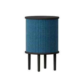 UMAGE - Audacious Beistelltisch - Eiche schwarz/Petrol Blue