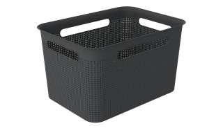 Rotho Aufbewahrungsbox ¦ schwarz ¦ Kunststoff Aufbewahrung > Aufbewahrungsboxen > sonstige Aufbewahrungsmittel - Höffner