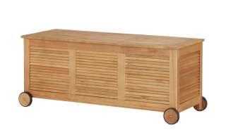 Yorkshire Kissenbox  Holstein ¦ holzfarben ¦ Eukalyptus Garten > Gartenzubehör > Gartenaufbewahrung - Höffner