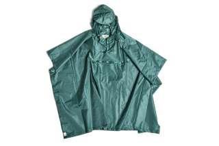 HAY - Mono Rain Poncho - green