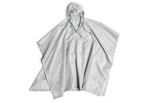 HAY - Mono Rain Poncho - light grey