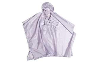 HAY - Mono Rain Poncho - lavender