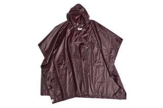 HAY - Mono Rain Poncho - burgundy