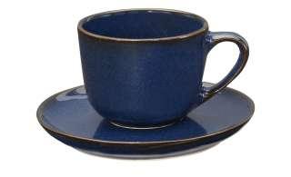 ASA SELECTION Espressotasse mit Unterteller ¦ blau ¦ PorzellanØ: 6.7 Geschirr > Tassen - Höffner