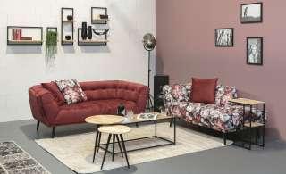 Ottomane  Rosie ¦ grau Polstermöbel > Sofas > Einzelsofas - Höffner