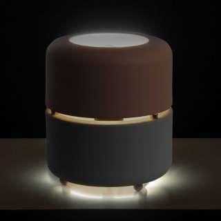 Tischlampe aus Metall Rosa und Grau
