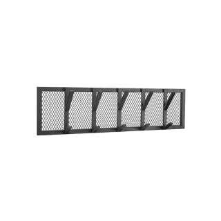 Metall Hängegarderobe mit 5 Kleiderhaken Industrie und Loft Stil