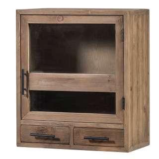 Oberschrank Küche eine Tür zwei Schubladen Vintage Look