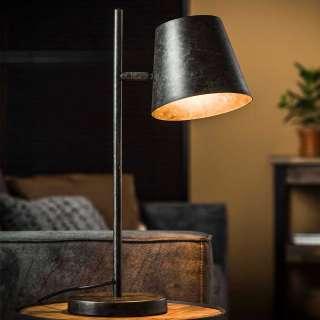 Tischlampe in Anthrazit Loft Design