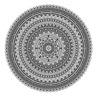 home24 Tischset Mandala I (4er-Set)
