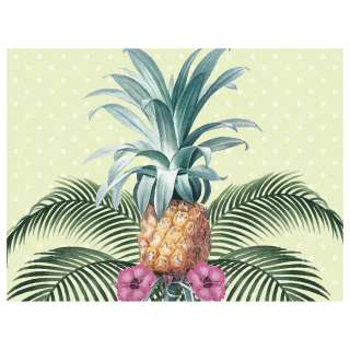 home24 Tischset Colonial Pineapple (4er-Set)