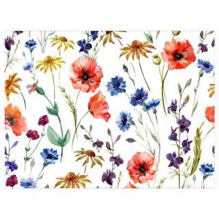 home24 Tischset Flowers (4er-Set)