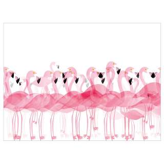 home24 Tischset Flamingos (4er-Set)
