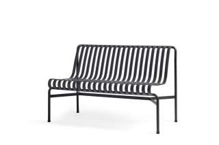 HAY - Palissade Dining Bench ohne Armlehne - anthracite
