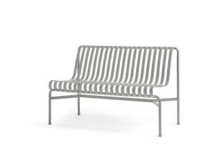 HAY - Palissade Dining Bench ohne Armlehne - sky grey