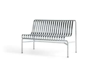 HAY - Palissade Dining Bench ohne Armlehne - galvanized