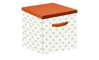 Aufbewahrungskiste (1 Stück)  Flexa ¦ orange ¦ Webstoff (100% Baumwolle) Baby > Unterwegs > Boxen - Höffner