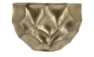 Deko Vase ¦ gold ¦ Aluminum Dekoration > Vasen - Höffner