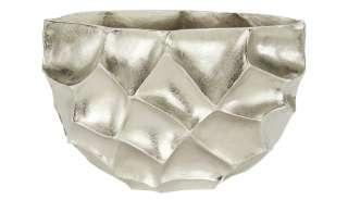Deko Vase ¦ silber ¦ Aluminum Dekoration > Vasen - Höffner