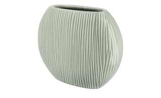 Vase ¦ grün ¦ Keramik Dekoration > Vasen - Höffner