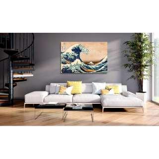 home24 Wandbild The Great Wave off Kanagawa