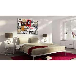 home24 Wandbild Collage (Banksy)