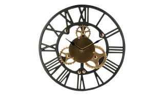 Wanduhr ¦ schwarz Ø: 35 Dekoration > Uhren & Wetterstationen - Höffner
