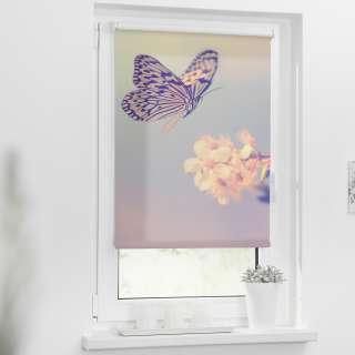 home24 Klemmfix Verdunklungsrollo Schmetterling