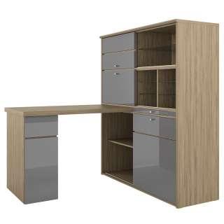 home24 Schreibtisch-Kombination Mini-Office II