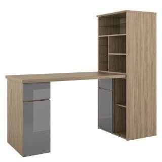 home24 Schreibtisch-Kombination Mini-Office