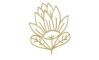Wanddekoration  Blume ¦ gold ¦ Metall Dekoration > Dekoartikel - Höffner