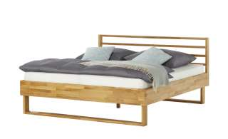 Doppelbettgestell  Farnborough ¦ holzfarben Betten > Futonbetten - Höffner