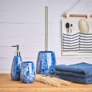 home24 WC-Bürste Blue Marble