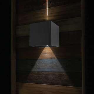 home24 LED-Wandleuchte Buitenlampen XIII