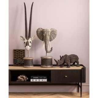home24 Deko Objekt Elephant Head Pearls