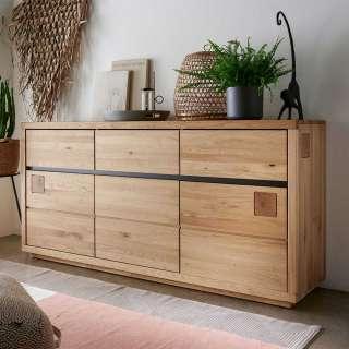 Esszimmer Kommode aus Wildeiche Massivholz geölt Türen und Schubladen