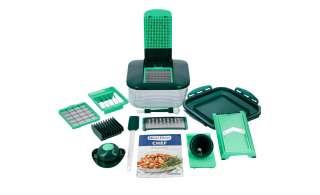 Nicer Dicer Chef ¦ grün ¦ Behälter: Kunststoff (BPA-frei), Edelstahl Küchenzubehör & Helfer > Küchenhelfer - Höffner