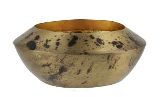 Teelichthalter ¦ gold ¦ Metall Ø: 11 Dekoration > Kerzen & Lichter > Kerzenständer - Höffner